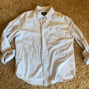 American Eagle pinstripe dress shirt